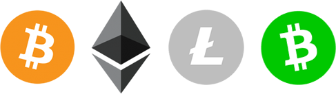 Buy and sell Bitcoin, Ethereum and Litecoin for Cash!